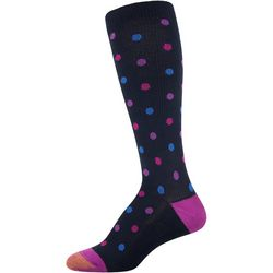 Gold Toe Womens Cool Dot Compression Socks