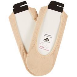 2-pk. Womens Ultra Low Larger Shoe Size Liner Socks
