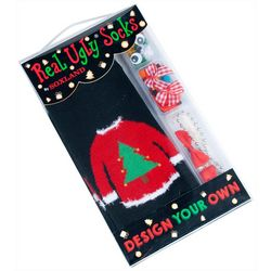 Soxland Design Your Own Ugly Holiday Sweater Socks