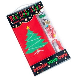 Soxland Design Your Own Ugly Christmas Tree Socks.