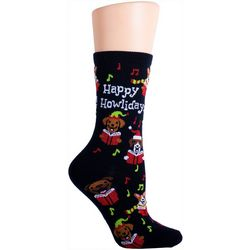 Soxland Happy Howlidays Crew Socks