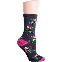 Soxland Santa Vespa Crew Socks