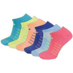 New Balance Womens 6-pk. Lightning Dry White Socks