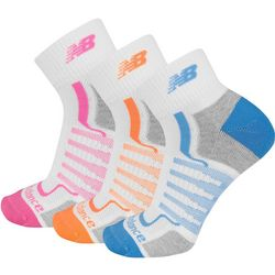 New Balance Womans Performance 3-pk. Socks