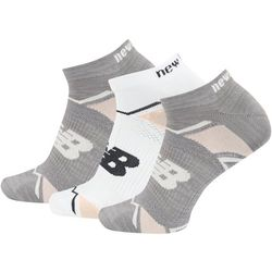 New Balance Womans Elite Sport 3-pk. Geo Socks