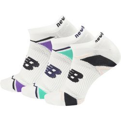 New Balance Womens 3-pk. Elite Sport No Show Socks