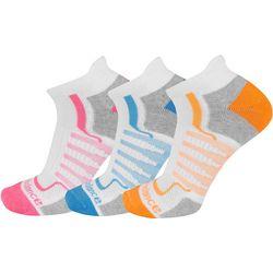 New Balance Womens 3-pk. Neon Low Cut Socks