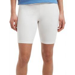 Hue Womens High Waist Cotton Bike Shorts