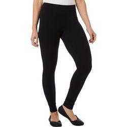 Hue Womens Blackout Solid Leggings