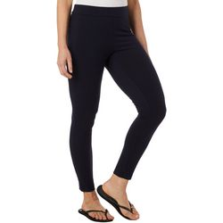 Hue Womens Blackout Solid  Leggings