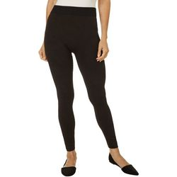 Hue Womens Python Cozy Lined Seamless Leggings