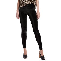 Hue Womens Solid Velvet Leggings