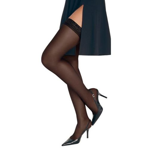9f1e262c61d Hanes Silk Reflections Thigh High Pantyhose