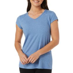 Reel Legends Womens Ultra Comfort Solid Cap Sleeve Top
