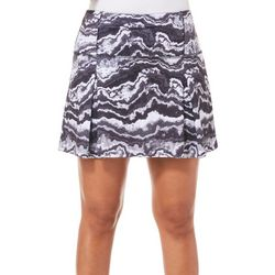 Reel Legends Womens Keep It Cool Agate Rock Skort