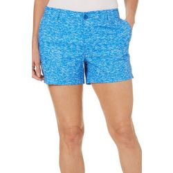 Reel Legends Womens Heathered Comfort Waist Shorts