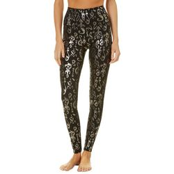 Reel Legends Womens Keep It Cool Foil Print Leggings