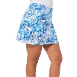 Reel Legends Womens Reel-Tec Agate Texture Skort