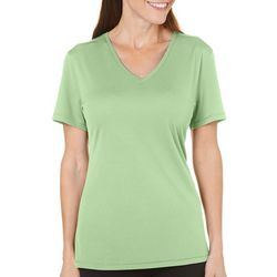 Reel Legends Womens Pigment Dyed Scoop Neck T-Shirt