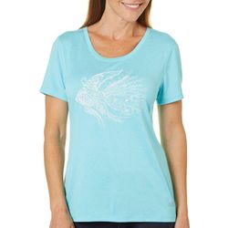 Reel Legends Womens Angelfish T-Shirt