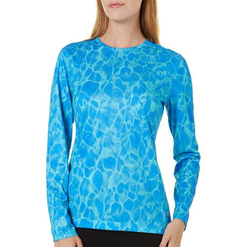 Reel Legends Womens Long Sleeve Water Freeline Top