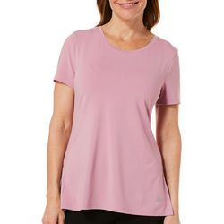 Reel Legends Womens Elite Comfort Solid Short Sleeve
