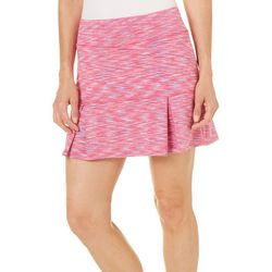 Reel Legends Womens Keep It Cool Space Dye Skort