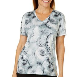 Reel Legends Womens Reel-Tec Nautilus Short Sleeve Top