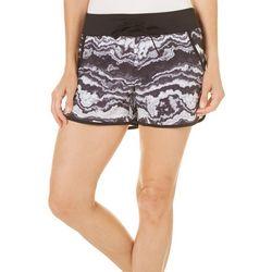 Reel Legends Womens Keep It Cool Swirl Print Shorts