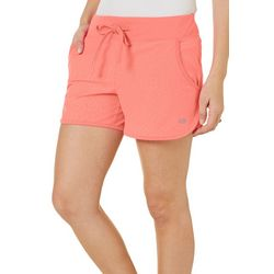 Reel Legends Womens Keep It Cool Solid Shorts
