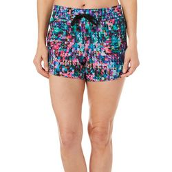 Reel Legends Womens Adventure Trianglular Pull On Shorts