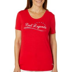 Reel Legends Womens Americana T-Shirt
