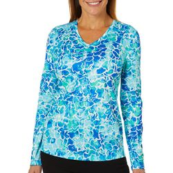 Reel Legends Womens Freeline Underwater Long Sleeve Top