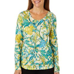 Reel Legends Womens Freeline Naive Jungle Long Sleeve Top