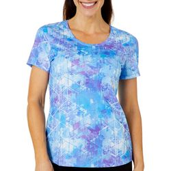 Reel Legends Womens Freeline Digital Explosion Top
