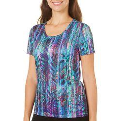 Reel Legends Womens Freeline Rainbow Shine Shimmer Top