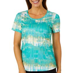 Reel Legends Womens Freeline Texture Drag Top