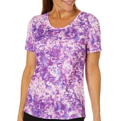 Reel Legends Womens Freeline Bubble Abstract Top