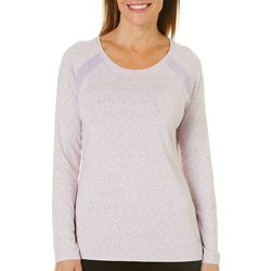 Reel Legends Womens Keep It Cool Space Dye Mesh Panel Top