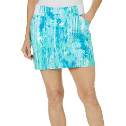 Reel Legends Womens Paint Print Adventure Skort