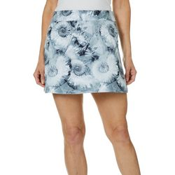 Reel Legends Womens Keep It Cool Nautilus Shells Wrap Skirt