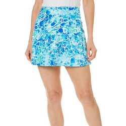 Reel Legends Womens Keep It Cool Water Print Wrap Skirt