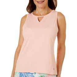 Reel Legends Womens Elite Comfort Keyhole Tank Top