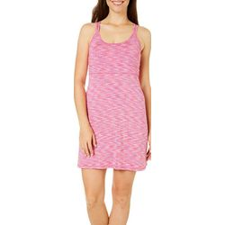 Reel Legends Womens Keep It Cool Strappy Space Dye Dress