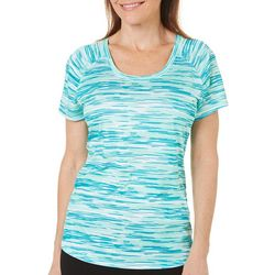 Reel Legends Womens Reel-Tec Angel Shark Scoop Neck Top