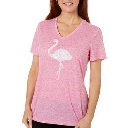 Reel Legends Womens Reel Flamingo Top
