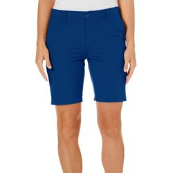 Reel Legends Womens Comfort Waist Bermuda Shorts