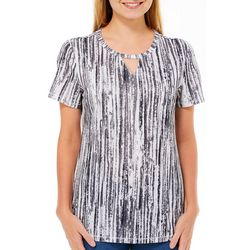 Reel Legends Womens Freeline Glowing Lines Shimmer Top