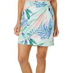 Reel Legends Womens Elite Comfort Elegant Palms Skirt