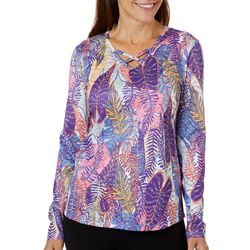 Reel Legends Womens Freeline Palm Variety Long Sleeve Top
